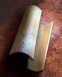 Dachówka ceramiczna Imerys Canal Gironde /Mnich-Mniszka/