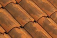 Dachówka ceramiczna Imerys Omega10 Vielli nuance fond rouge