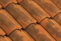 Dachówka ceramiczna Imerys Omega13 Vielli nuance fond rouge