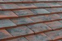 Dachówka ceramiczna Imerys Plate Pressée 17X27  Rouge Etna