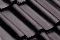 Dachówki ceramiczne Imerys Panne H2  Noir Brillant