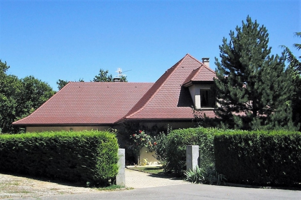 Dachówka ceramiczna ARBOISE Ecaille Jacob - Rouge Ancien
