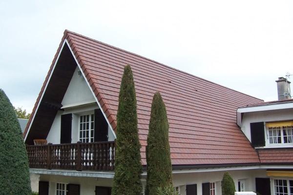 Dachówka ceramiczna ARBOISE Rectangulaire Jacob - Ruge Ancien