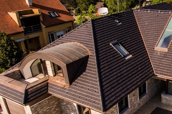 Dachówka ceramiczna Double HP20 - Ardoisé