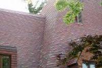 Dachówka ceramiczna Plate Presse 17x27 Rouge Etna