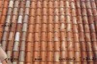 Dachówka ceramiczna Canal Gironde /mnich-mniszka/