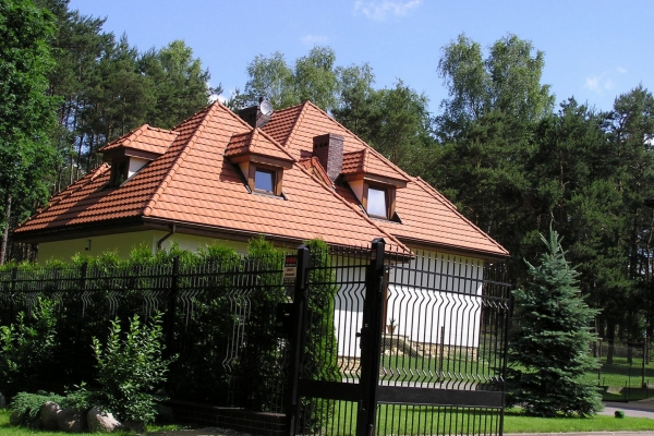Dachówka ceramiczna H10 Huguenot- Flammé Rustique