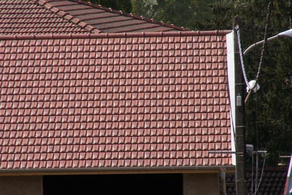 Dachówka ceramiczna Rhona 10- Rouge Nuancé
