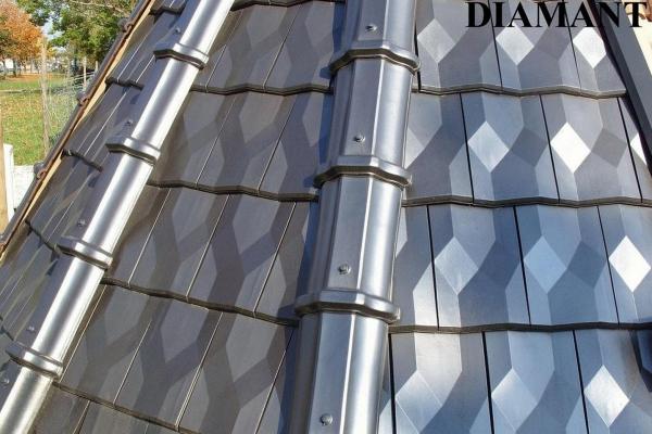 Dachówka ceramiczna Diamant - Argentique (11)