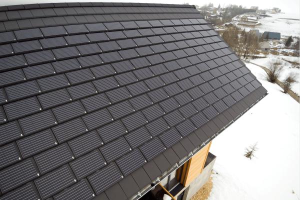 Dachówka solarna  ALPHA SOLAR i dachówka ceramiczna ALPHA 10 | Edilians-Zamarat (2)