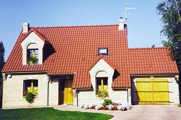 Dachówka ceramiczna H2 Huguenot - Rouge | Edilians-Zamarat