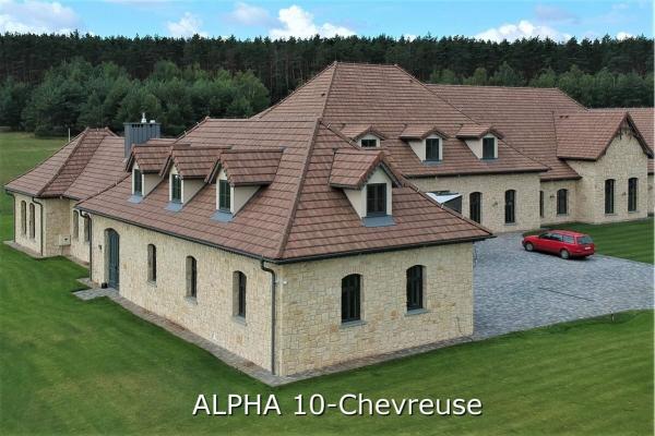 Dachówka ceramiczna Alpha 10 - Chevreuse   Edilians-Zamarat