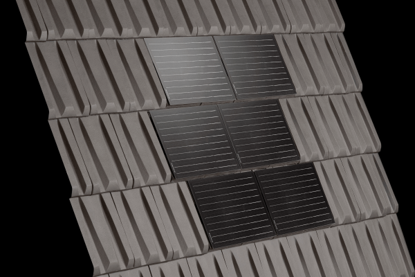 Dachówka RHONA SOLAR Ardoise i dachówka ceramiczna  Rhona 10 Ardoise