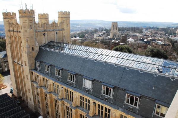 Zamarat-Łupek skalny Riverstone -Bristol-University-Londyn