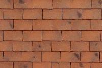 Dachówka ceramiczna Imerys Plate Pressee 17x27 Rouge Nuance