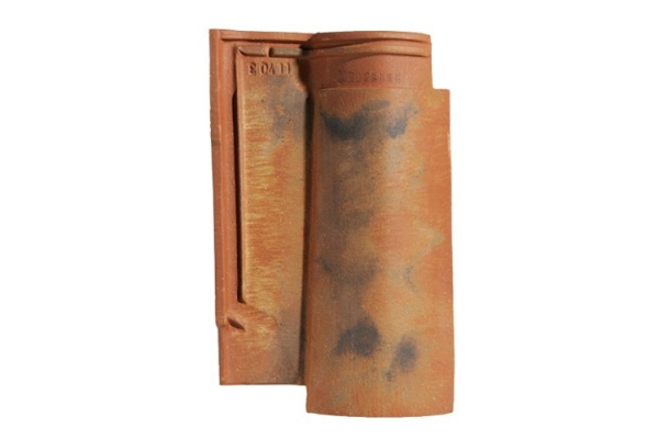 Dachówka ceramiczna OMEGA 10 - Vielli Nuance Sur Fond Rouge | Edilians-Zamarat