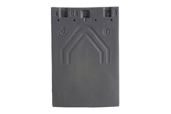 Dachówka ceramiczna PLATE  20X30 - Ardoise | Edilians-Zamarat