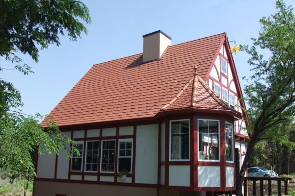 Dachówka ceramiczna ARBOISE Ecaille Jacob - Rouge