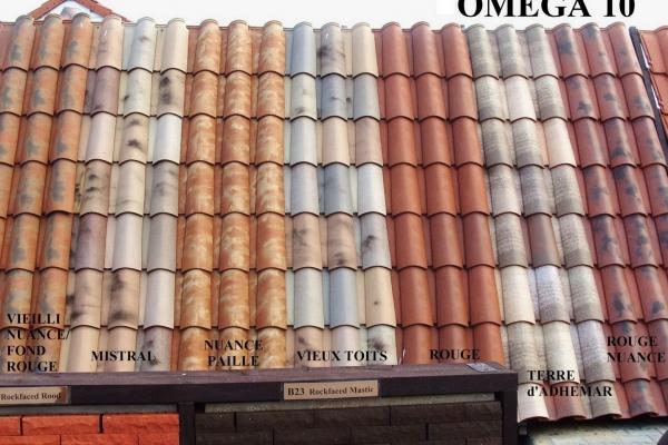 Omega 10 Ste Foy - EkspozycjaDachówka ceramiczna Omega 10 Ste Foy - Ekspozycja