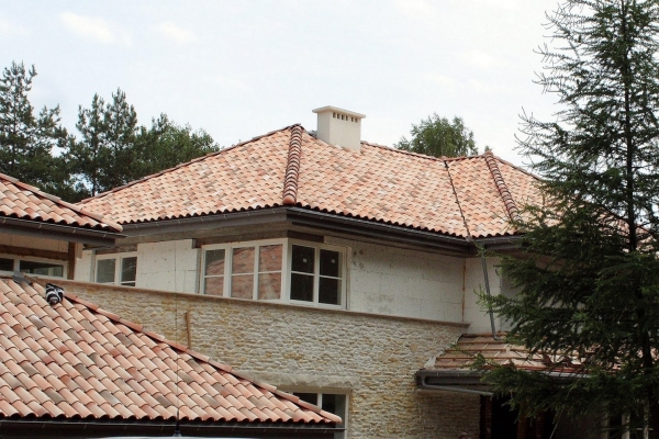 Dachówka ceramiczna Plein Sud Gelis- Littoral Flamme z Terroir