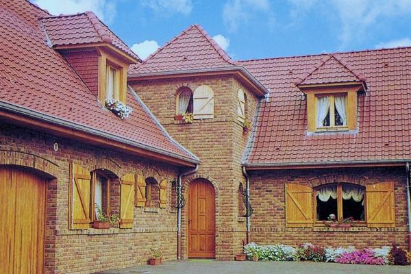 Dachówka ceramiczna Monopole 3 - Rouge
