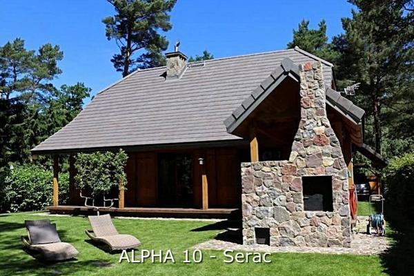 Dachówka ceramiczna Alpha 10 - Serac   Edilians-Zamarat