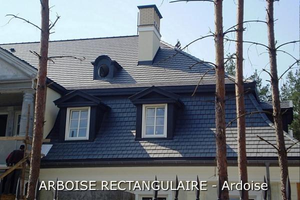 Dachówka ceramiczna Arboise  Rectangulaire - Ardoise | Edilians-Zamarat