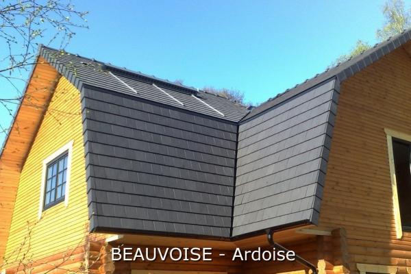 Dachówka ceramiczna Beauvoise - Ardoise | Edilians-Zamarat