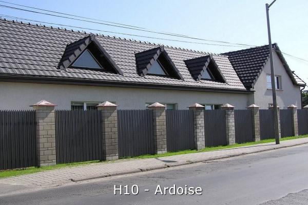 Dachówka ceramiczna H 10 Ardoise   Edilians-Zamarat