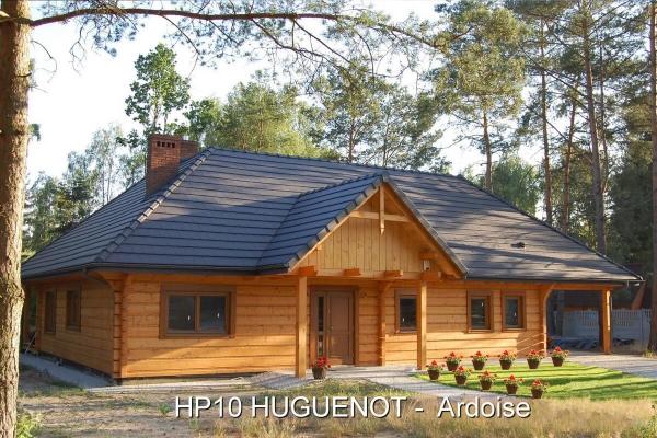 Dachówka ceramiczna HP10 HUGUENOT Ardoise | Edilians-Zamarat
