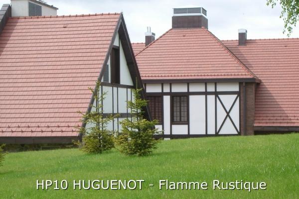Dachówka ceramiczna HP10 HUGUENOT - Flamme Rustique| Edilians-Zamarat