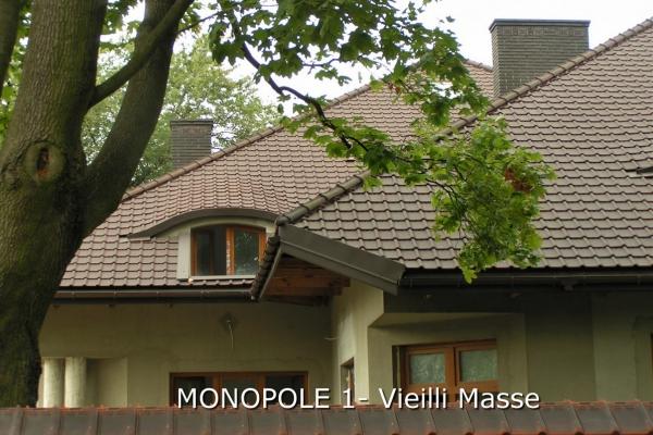 Dachówka ceramiczna MONOPOLE 1 Vieilli Mase| Edilians-Imerys