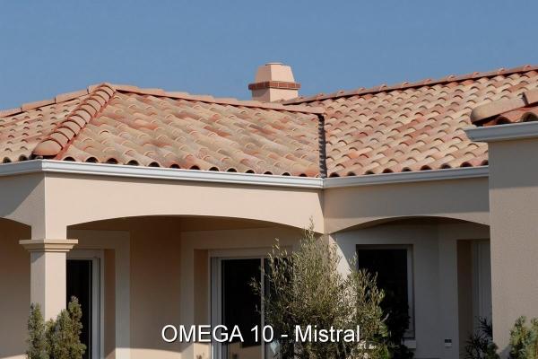 Dachówka ceramiczna Omega 10 - Mistral | Edilians-Zamarat