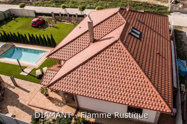Dachówka ceramiczna Diamant - Flamme Rustique | Edilians - Zamarat