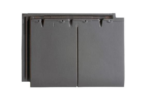 Dachówka ceramiczna DOUBLE HP 20 - Ardoise | Edilians-Zamarat