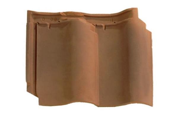 Dachówka ceramiczna DOUBLE PANNE S - Flamme Rustique | Edilians-Zamarat