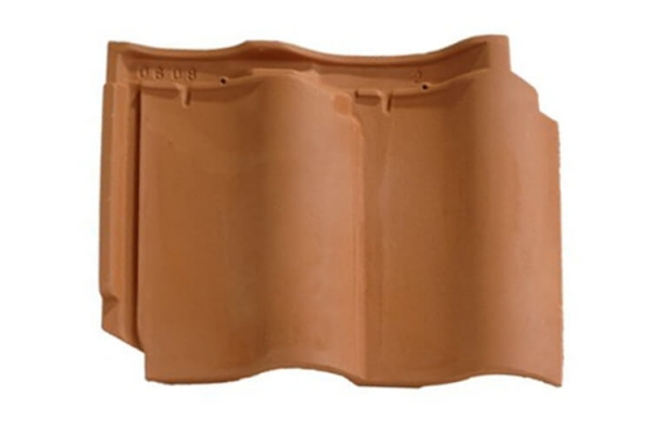 Dachówka ceramiczna DOUBLE PANNE S - Rouge | Edilians-Zamarat