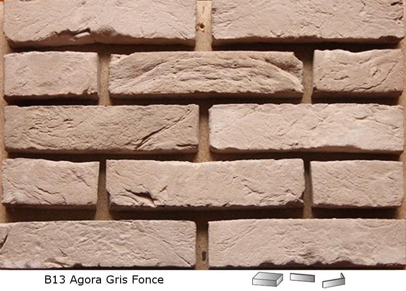 Terca - cegła Agora Gris Fonce